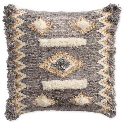"VivaTerra Hygge Decorative Throw Pillow, 18"" Square"