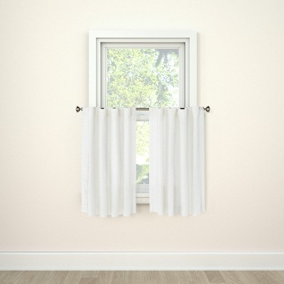 "36""x42"" Curtain Tier Honeycomb White - Threshold™"