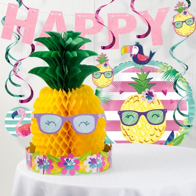 Pineapple Party Decoration Party Kit