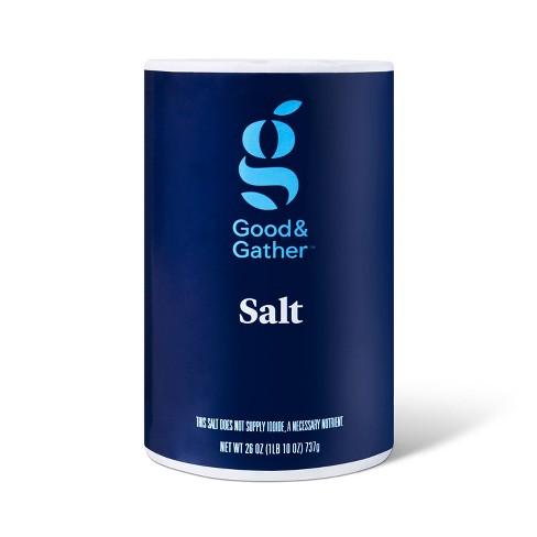 Plain Salt - 26oz - Good & Gather™ - image 1 of 2