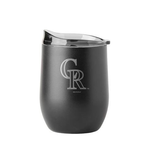 MLB Colorado Rockies 16oz. Black Wine Tumbler - image 1 of 1