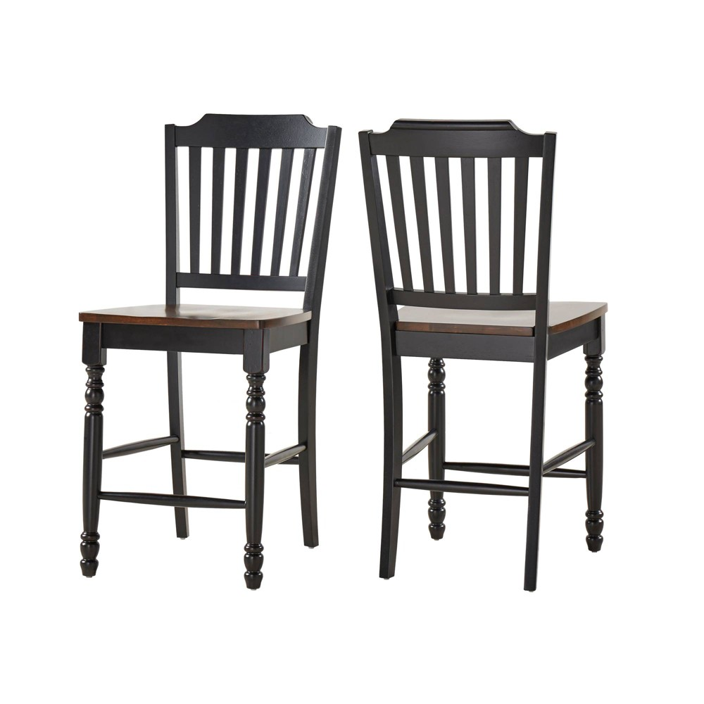 Awe Inspiring 24 Set Of 2 Countryside Slat Back Counter Stool Antique Unemploymentrelief Wooden Chair Designs For Living Room Unemploymentrelieforg