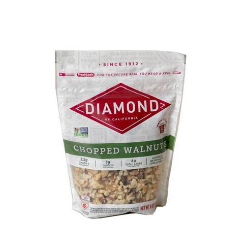 Diamond of California Chopped Walnuts - 8oz - image 1 of 3