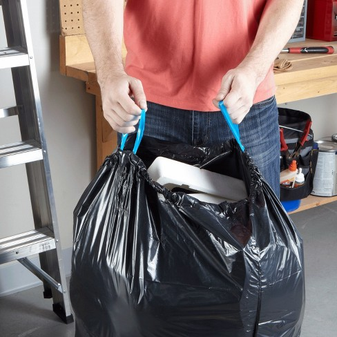 Hefty Strong Multipurpose Large Drawstring Trash Bags - 30 Gallon - 36ct