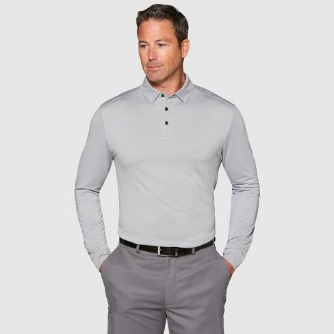 Jack Nicklaus Men's Long Sleeve Golf Polo Shirt - image 1 of 2