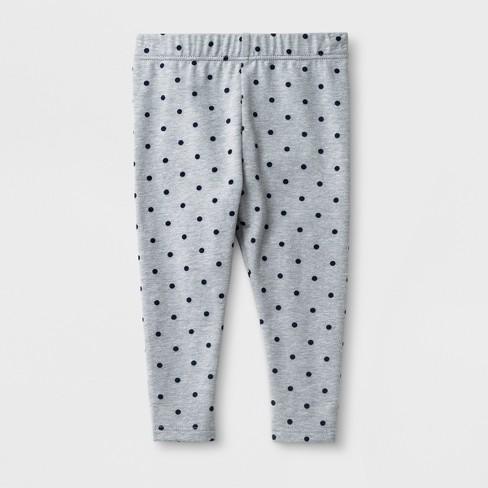 021bd0c6f Baby Girls' Leggings - Cat & Jack™ Gray Dot : Target