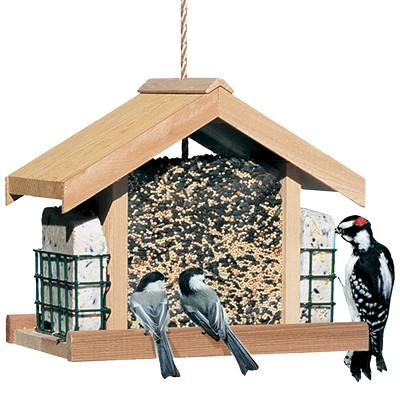 10  Metal, Wood Deluxe Chalet - Perky-Pet