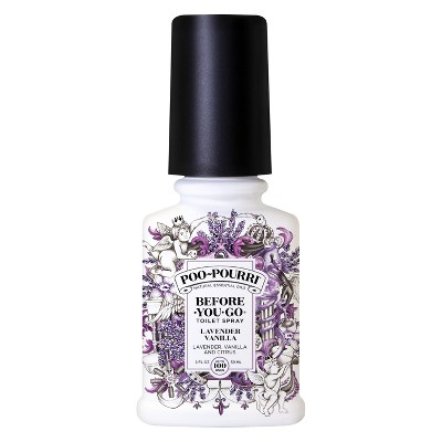 2oz Toilet Spray Lavender Vanilla - Poo-Pourri
