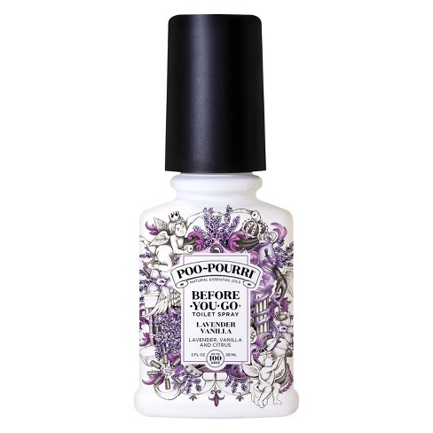 2oz Toilet Spray Lavender Vanilla Poo Pourri
