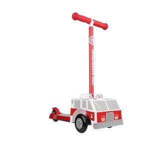 Sakar Firetruck 3D 3 Wheel Scooter - Red
