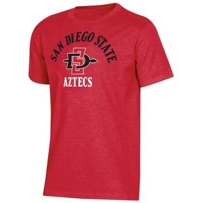 NCAA San Diego State Aztecs Boys' Short Sleeve Crew Neck T-Shirt