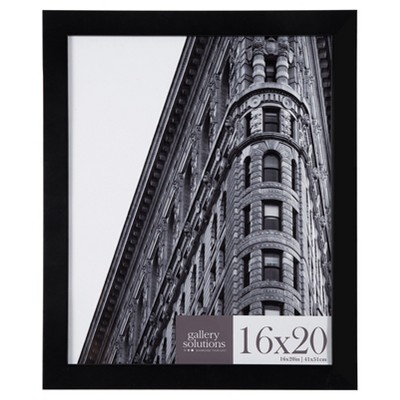 16X20 Black Flat Large Wall Frame - Gallery Perfect