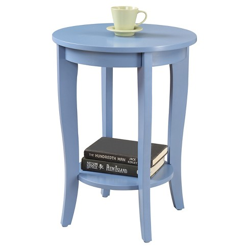American Heritage Round End Table - Convenience Concepts - image 1 of 3
