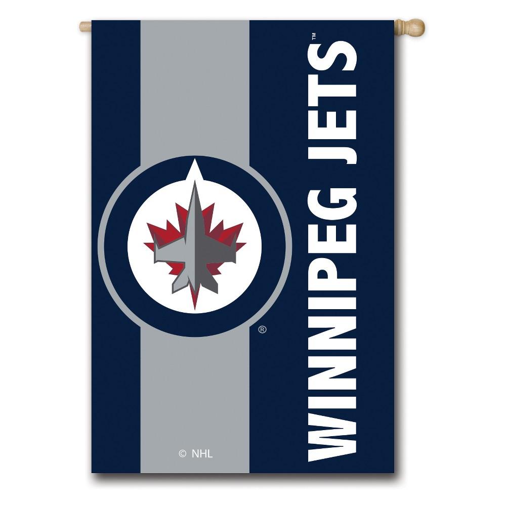 Winnipeg Jets Embellished House Flag