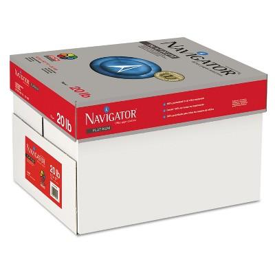 Navigator Platinum Paper 99 Brightness 20lb 11 x 17 White 2500/Carton NPL1720