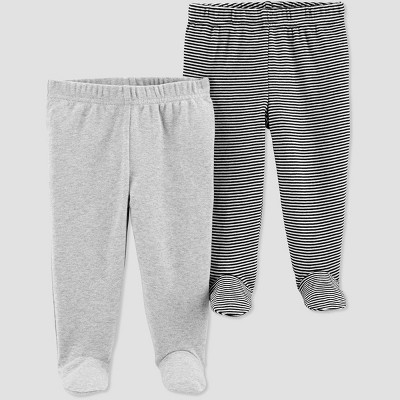 Baby Boys' 2pk Leggings - Just One You® made by carter's Gray Newborn