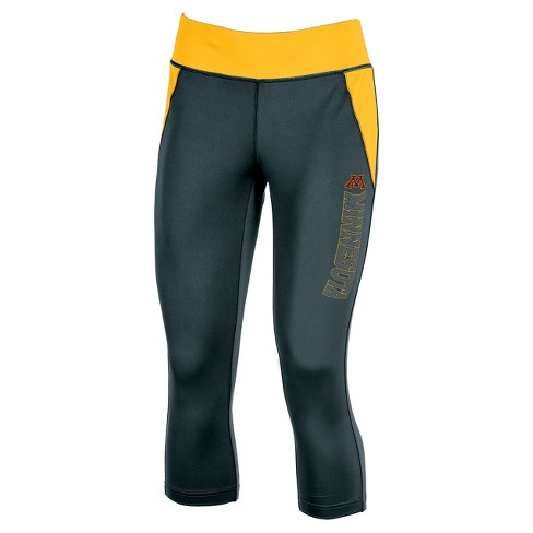 NCAA Minnesota Golden Gophers Women s Yoga Capri Leggings   Target 4b430ea8fd