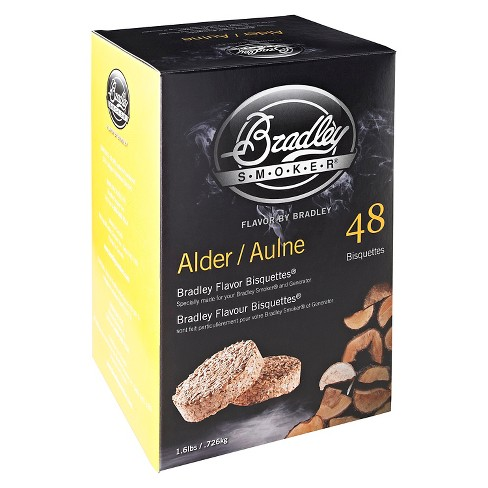 Alder Bisquettes 48 Pack Smoker Box - Bradley Smoker - image 1 of 1