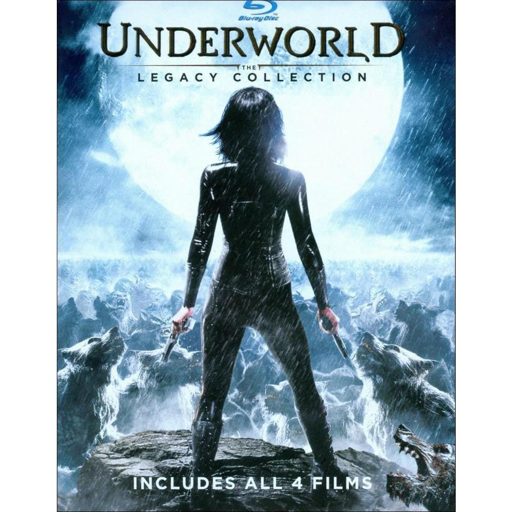 Underworld: The Legacy Collection (4 Discs) (Blu-ray + Digital)