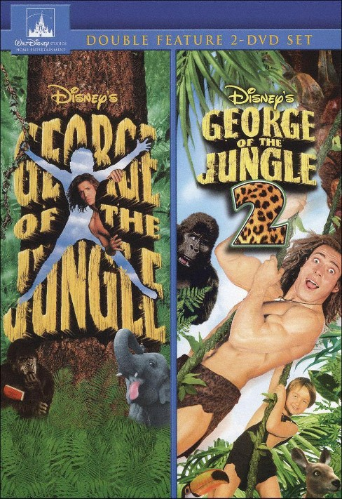 George of the Jungle/George of the Jungle 2 [2 Discs] - image 1 of 1