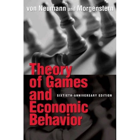 Theory of Games and Economic Behavior - (Princeton Classic Editions) 60 Edition (Paperback) - image 1 of 1
