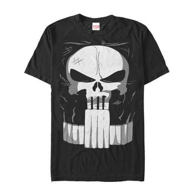 Men's Marvel Halloween Punisher Costume T-Shirt