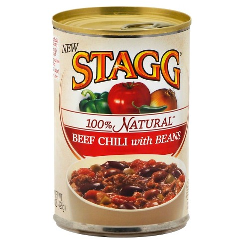 Stagg 100% natural Beef Chili with Beans - 15 oz - image 1 of 1