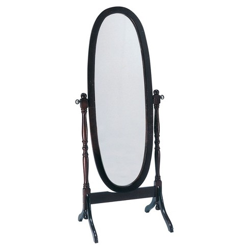 Cheval Mirror Acme Furniture Cherry - image 1 of 2