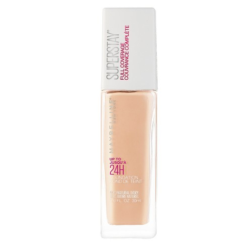 Maybelline Superstay Full Coverage Foundation - Light Shades - 1.0 fl oz - image 1 of 4