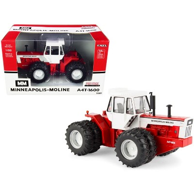 """Minneapolis-Moline A4T-1600 Tractor Red and White """"Prestige Collection"""" Series 1/32 Diecast Model by ERTL TOMY"""