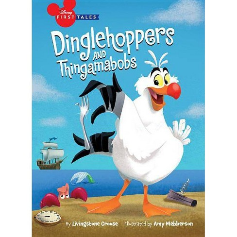 Disney First Tales the Little Mermaid: Dinglehoppers and Thingamabobs - (Hardcover) - image 1 of 1