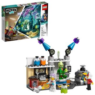 LEGO Hidden Side J.B.'s Ghost Lab Augmented Reality (AR) Building Kit with Toy Lab 70418