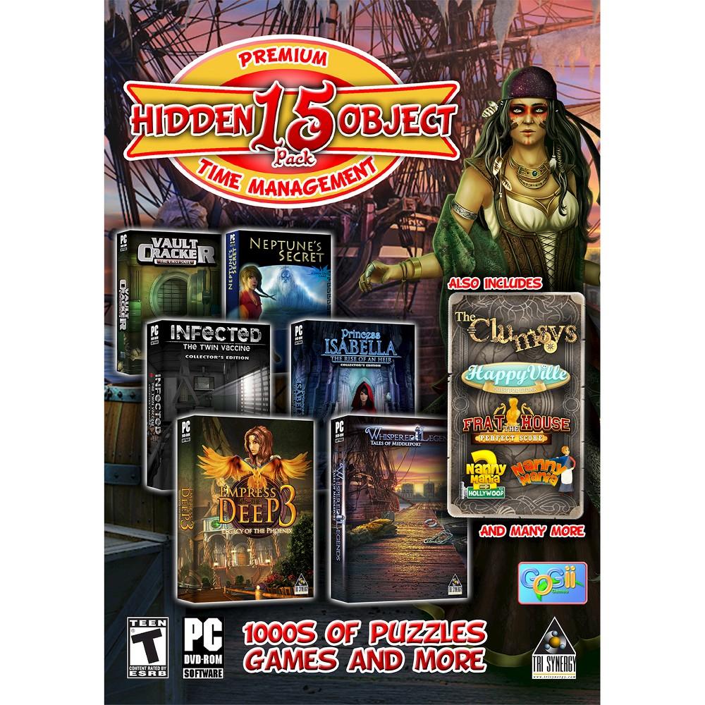 Premium 15 Hidden Object Pack PC Games