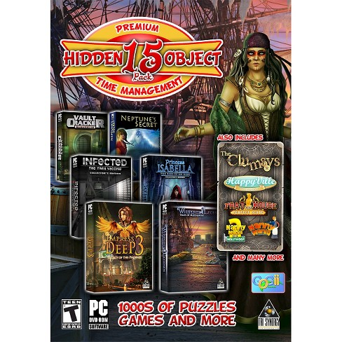 Premium 15 Hidden Object Pack PC Games - image 1 of 1