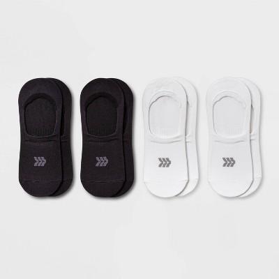 Women's Extended Size Lightweight 4pk Liner Athletic Socks - All in Motion™ 8-12