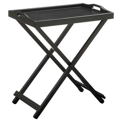 Tray Table Black - Breighton Home