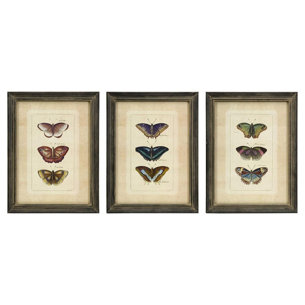 "Image of ""Aurora Decorative Wall Art Set (16 X 12"""")"""