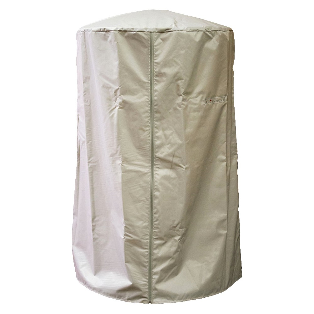 Image of Heavy Duty Portable Patio Heater Cover, Taupe Brown