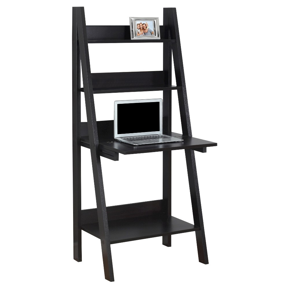Ladder Style Computer Desk - Cappuccino - EveryRoom