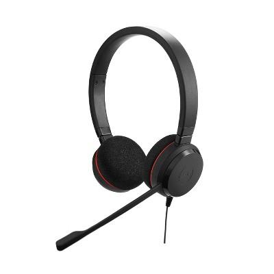 Jabra Evolve 20 MS Stereo Wired Headset / Music Headphones 4999-823-109