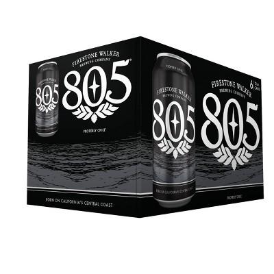 Firestone Walker 805 Blonde Ale Beer - 6pk/12 fl oz Cans