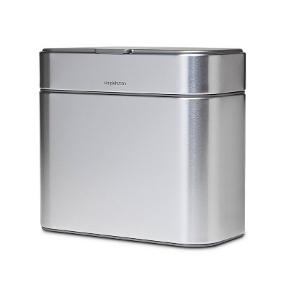 simplehuman Compost Caddy Silver