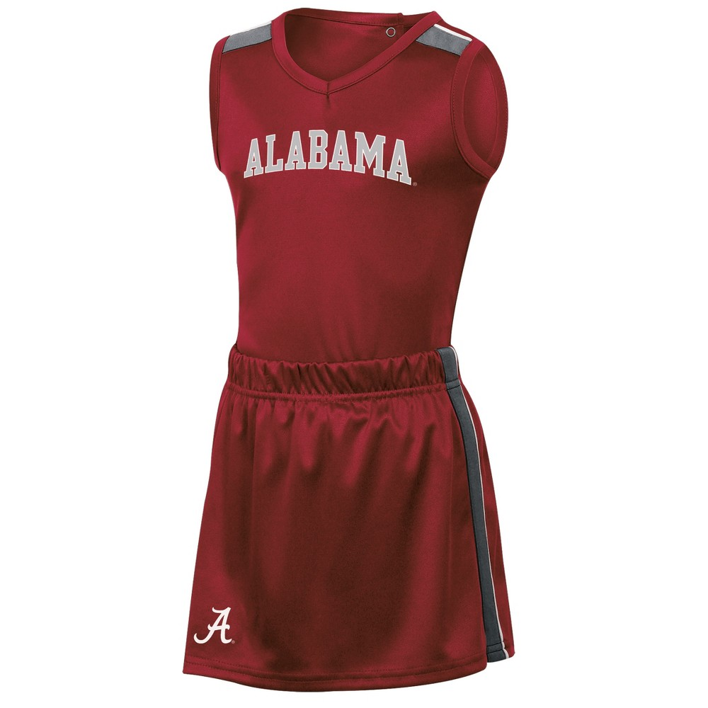 Alabama Crimson Tide Girls' 3pc Cheer Set 4T, Multicolored