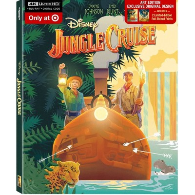 Jungle Cruise (Target Exclusive)(4K/UHD + Blu-ray + Digital)