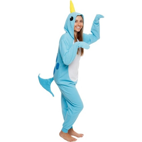 Funziez! Narwhal Slim Fit Women's Novelty Union Suit - image 1 of 4