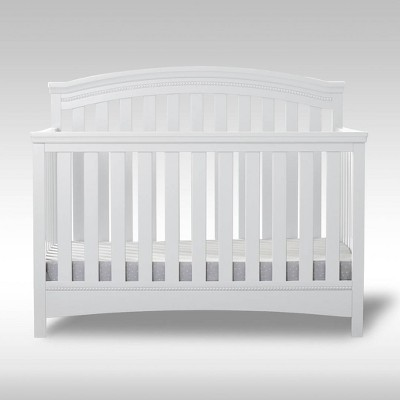 Delta Children Emerson 4-in-1 Convertible Crib - Bianca