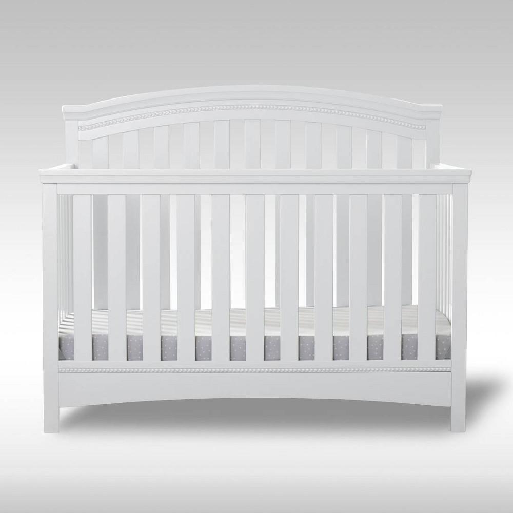 Discounts Delta Children Emerson 4-in-1 Convertible Crib - Bianca