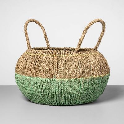 Decorative Seagrass Basket Mint 16.5 x17  - Opalhouse™