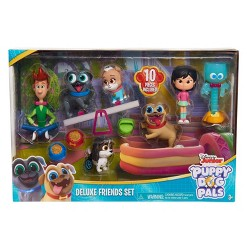 Disney Puppy Dog Pals Deluxe Figure Set