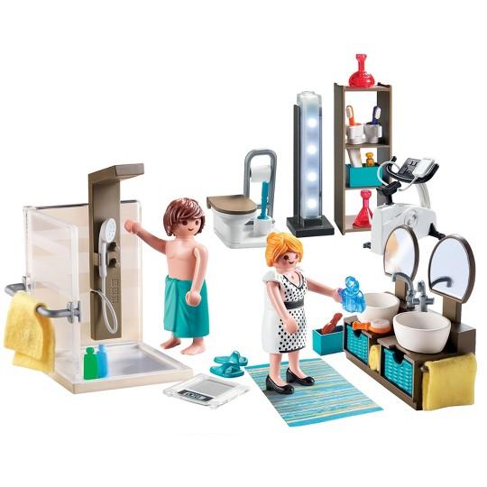 Playmobil Bathroom, mini figures image number null